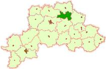 Район на карте Могилевской области