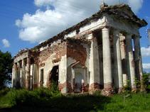 Костел в д. Рясно